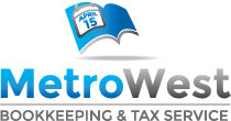 MetroWest Bookkeeping & Tax Service Logo